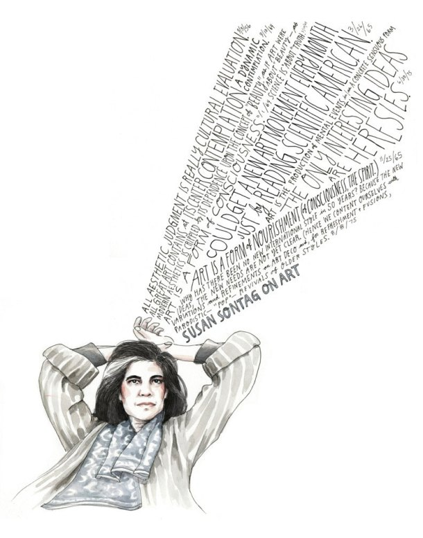 Susan Sontag on Art